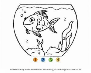 Fish Tank - Downloadable illustrations for children