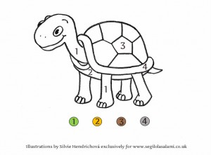 Turtle - Downloadable illustrations for children