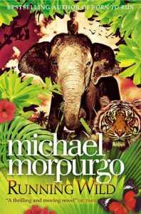 Running Wild by Michael Morpurgo book cover