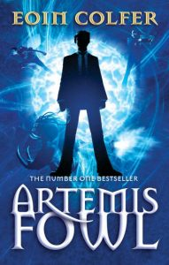 Artemis Fowl by Eoin Colfer book cover