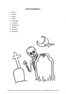 SCARY SKELETON ANAGRAM final