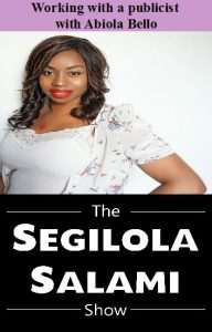 working with a publicist with abiola bello