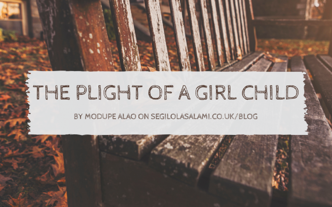 plight oh girl child Plight of women: international scenario meant to be house- keepers and the bearer of children girls who were found to be more attractive than others.