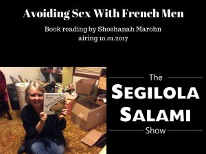 Book reading by Shoshanah Marohn