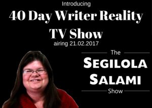 40 Day Writer Reality TV Show
