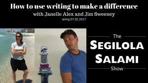 How to use writing to make a difference with segilola salami