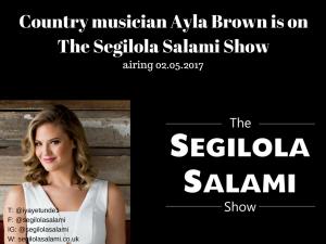 ayla brown on podcast the segilola salami show