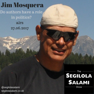 Do authors have a role in politics? with jim mosquera