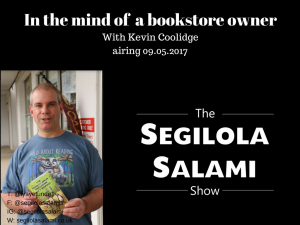In the mind of a bookstore owner and self published author