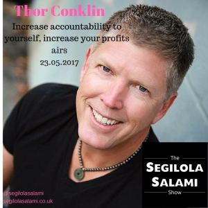 Increase accountability to yourself, increase your profits thor conklin peak performers