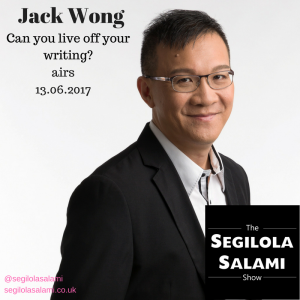Can you live off your writing? jack wong