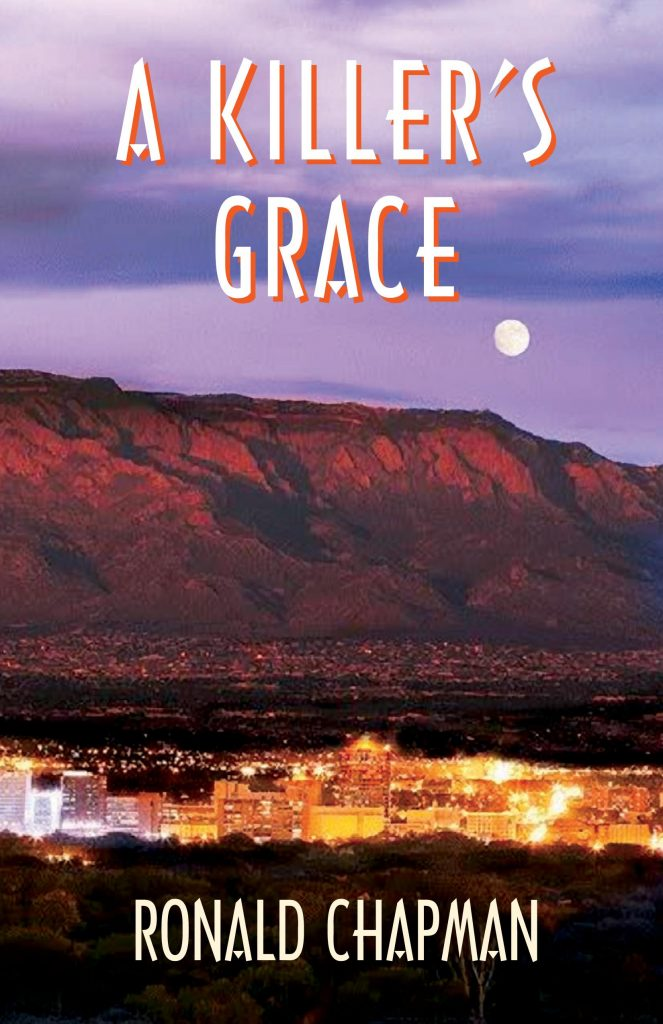 Book reading A Killers Grace by Ronald Chapman