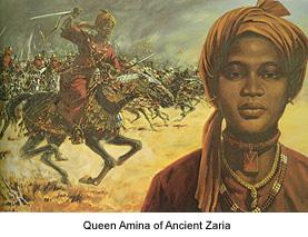 quuen amina of zaria zazzau, amazing african woman