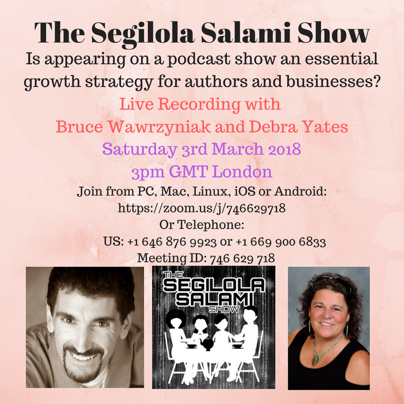 Is appearing on a podcast show an essential growth strategy for authors and businesses?