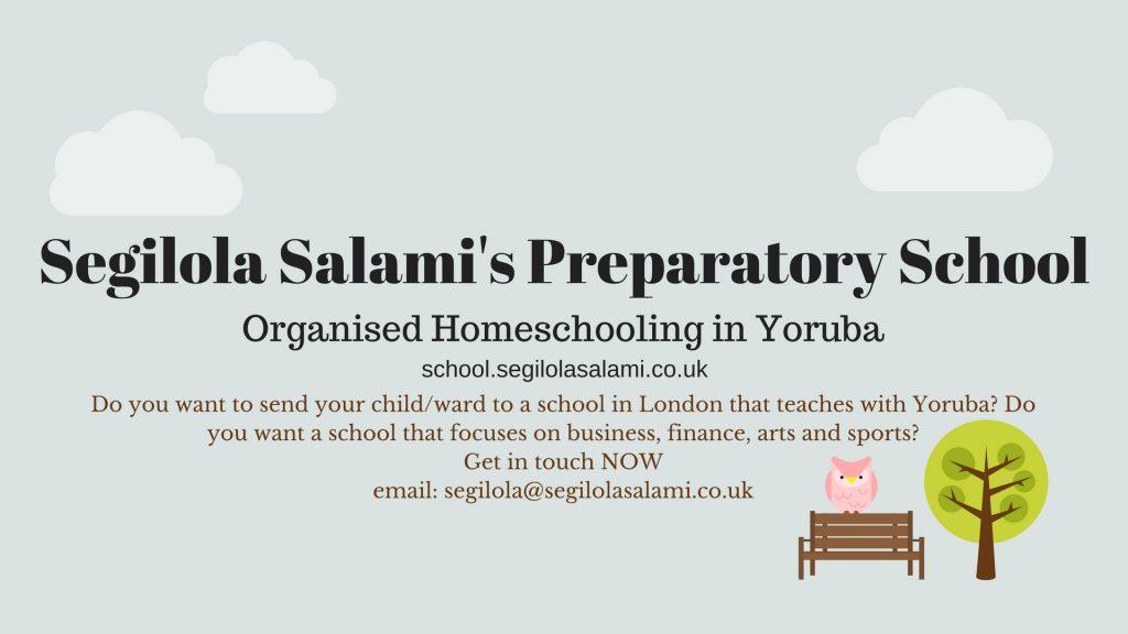 Segilola Salami's Preparatory School