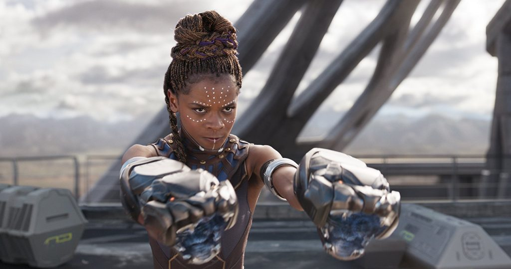 I just had to write a review of the Black Panther movie
