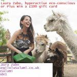 Meet Laura Zabo, hyperactive eco-conscious warrior | Win a £100 gift card
