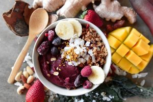 healthy recipes Warrior Fuel Protein Bowl