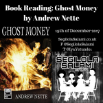 NSFW Book Reading: Ghost Money by Andrew Nette