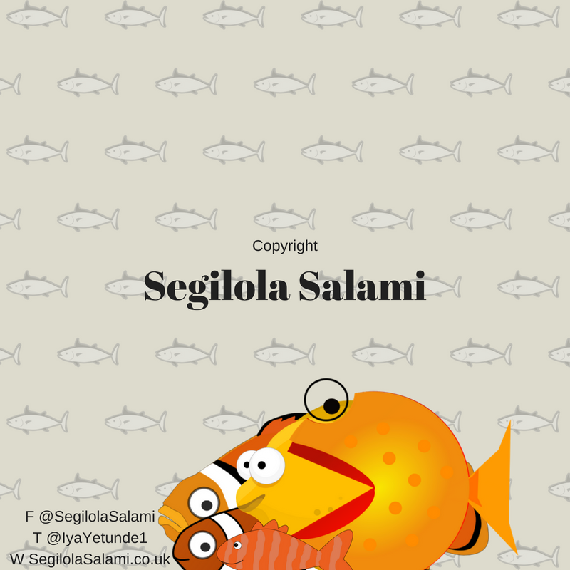 here's my baby fish cartoon by Segilola Salami