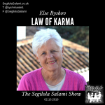 law of karma podcast Death Is an illusion by else byskov, Testimonials by Segilola Salami's Clients and Podcast Guests