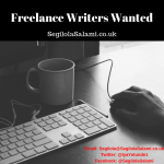 Freelance Writers and Bloggers Wanted for Regular Work