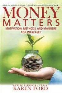 Preview to Amazon Bestselling book Money Matters by Karen Ford