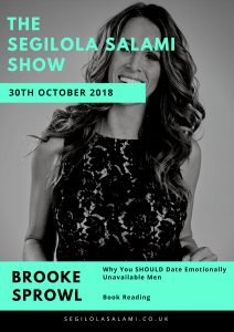 Book reading: Why You SHOULD Date Emotionally Unavailable Men by Brooke Sprowl