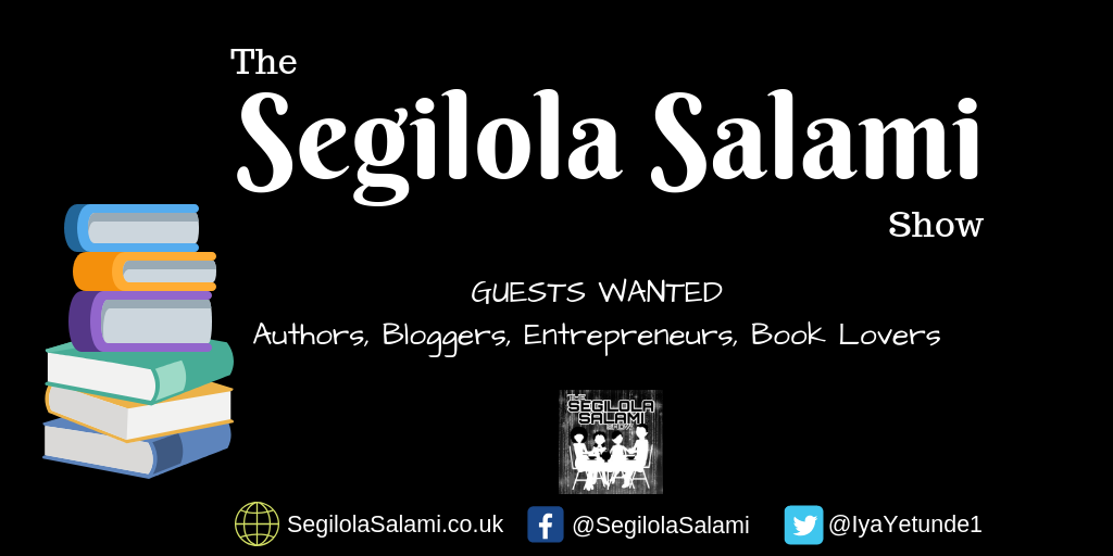would you like to appear as a guest on The Segilola Salami Show podcast set in a virtual cafe