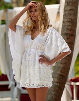 How should I celebrate 4 years of being a mother? with Simply Beach Kaftans Women's swimwear