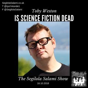 toby weston is science fiction dead singularity