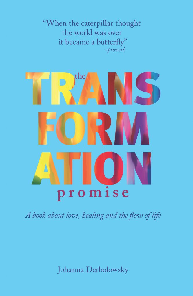 short extract from the spirituality and alternative medicine book The Transformation Promise: A Book About Love, Healing And The Flow Of Life by author Johanna Derbolowsky