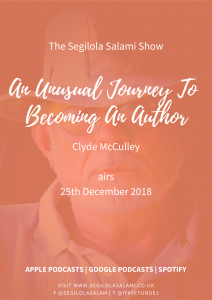 Clyde McCulley: An unusual journey to becoming an author