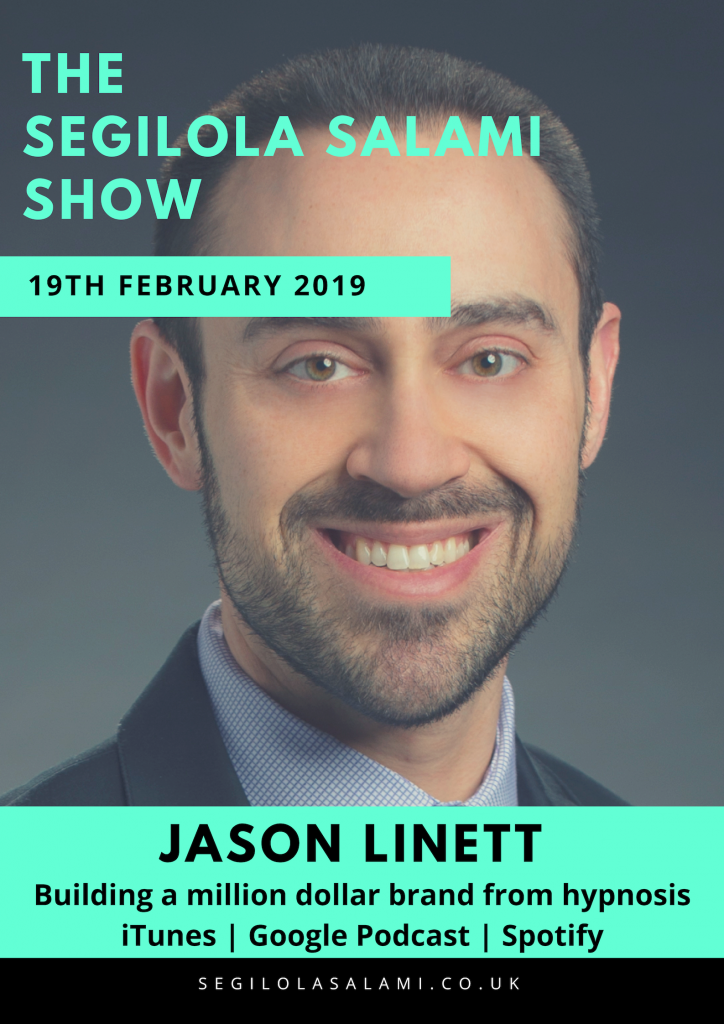 Jason Linett: Building a million dollar brand from hypnosis WORK SMART BUSINESS: Lessons Learned from HYPNOTIZING 250,000 People and Building a Million-Dollar Brand
