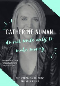 podcast is supported by Catherine Auman: do not write only to make money