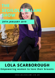 Lola Scarborough: Empowering women to love their breasts