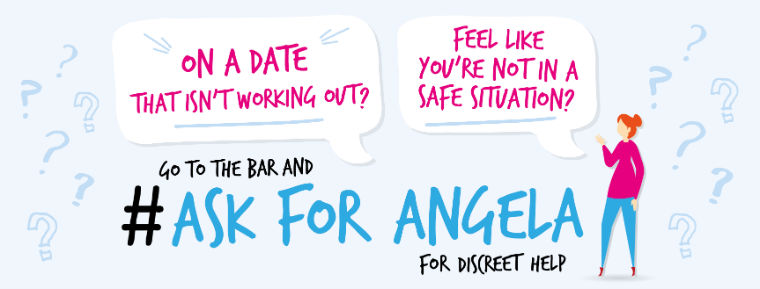 Have you heard of the Ask for Angela campaign? #AskforAngela blog post cover art