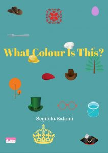 book cover learn a new language what colour is this in Yoruba