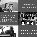 Booking page for The Segilola Salami Show