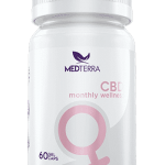 CBD Monthly Wellness Capsules for cramps