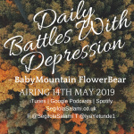 BabyMountain FlowerBear: Daily Battles With Depression + £30 Giftcard Giveaway