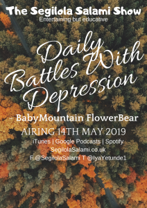 blog post podcast episode cover art BabyMountain FlowerBear: Daily Battles With Depression