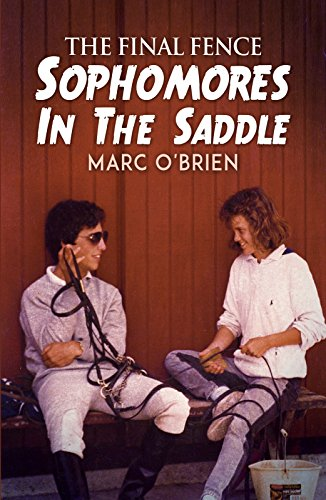 book cover from YA novel the final fence by author marc obrien. picture shows the two main characters in the book