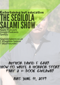 author david f gray giveaway blog podcast banner