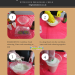 How To Make Quicksand With Your Preschool Child + Giveaway worth £164