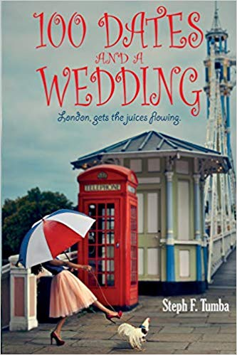 book cover for Character Interview from Romantic Comedy 100 Dates and a Wedding by Stephanie Tumba
