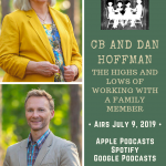CB and Dan Hoffmann: The highs and lows of working with a family member