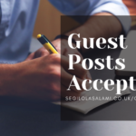 Submit a guest post for publication