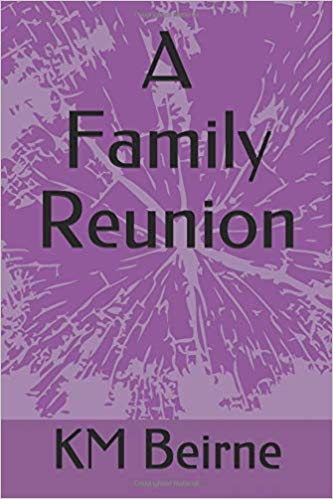 book cover from fantasy novel A Family Reunion by KM Beirne character interview