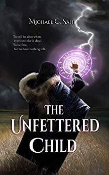 blog post book cover Character Interview: The Unfettered Child by Michael C. Sahd